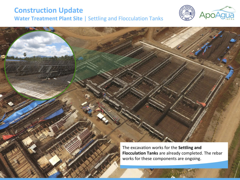 Apo Agua Construction Update (Settling and Flocculation Tanks)