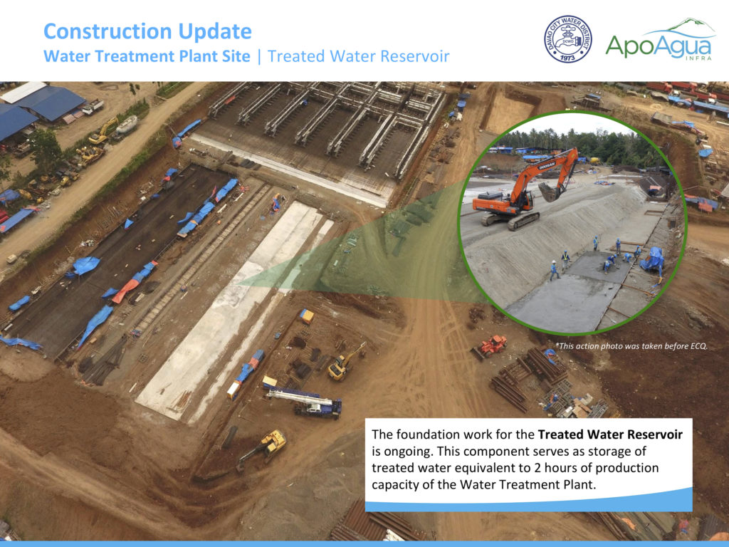 Apo Agua Construction Update (Treated Water Reservoir)